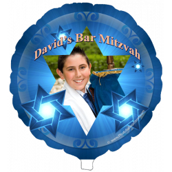 Bar Mitzvah Photo Balloon