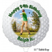 "Golf Ball 11"" Tabletop Photo Balloon"